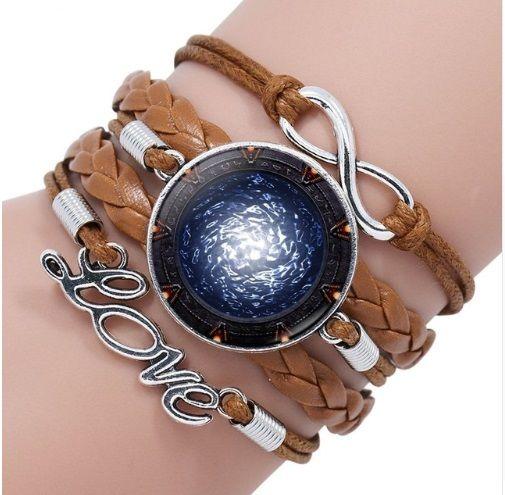 Stargate Portal Infinity Bracelet