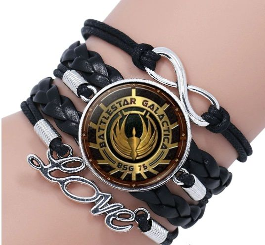 Battlestar Galactica Infinity Bracelet