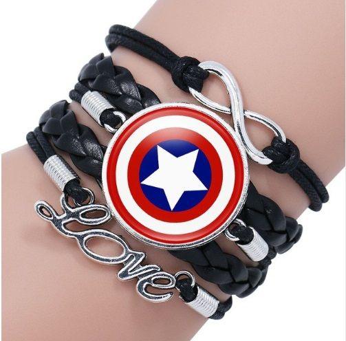 Captain America Infinity Bracelet
