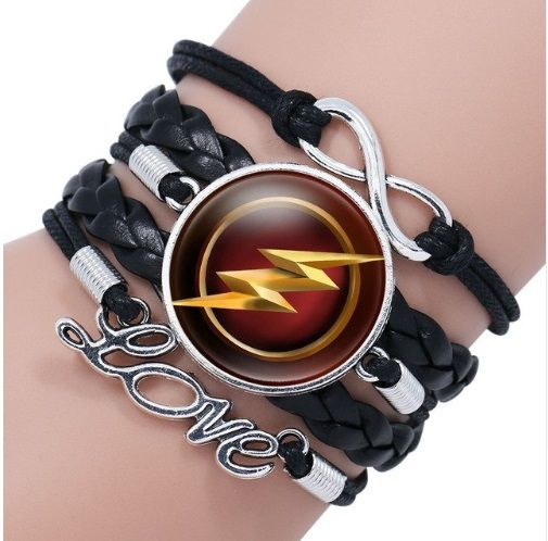 The Flash Justice League Infinity Bracelet