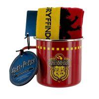 Gryffindor Quidditch Tin Mug & Socks Set