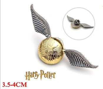 Harry Potter Snitch Pin Badge