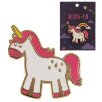 Enamel Unicorn Pin Badge