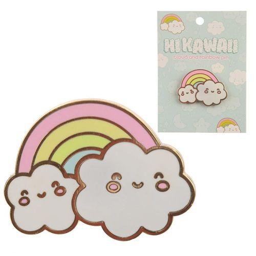 Enamel Kawaii Weather Pin Badge