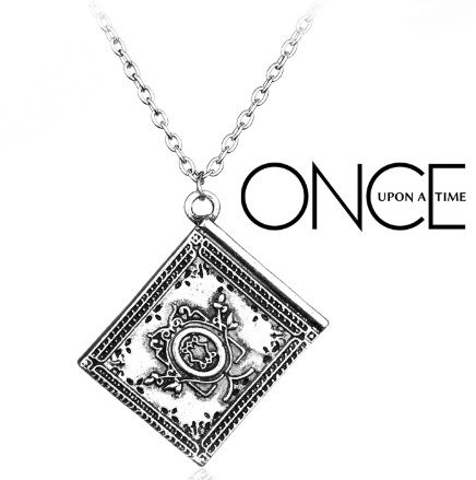 Once Upon A Time Fairy Tale Book Pendant