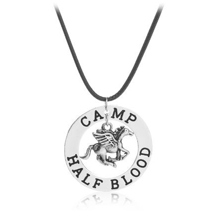 Percy Jackson Camp Half Blood Pendant