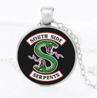 Riverdale South Side Serpents Pendant