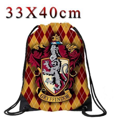 Harry Potter Gryffindor Drawstring Cinche Bag