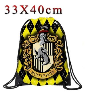 Harry Potter Hufflepuff Drawstring Cinche Bag
