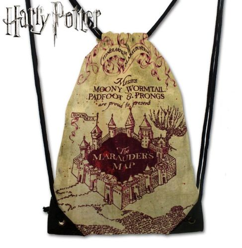 Harry Potter Marauders Map Drawstring Cinche Bag