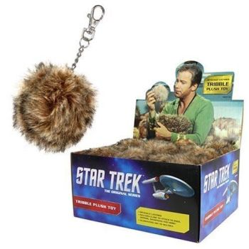 Star Trek Tribble Keyring