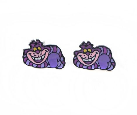 Alice in Wonderland , Cheshire Cat Earring Studs