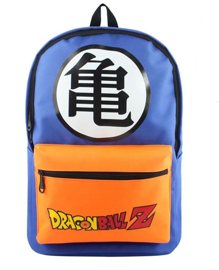 dragon ball bag close up