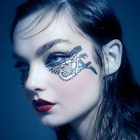 Face Lace Cyber Glammalien by Phyllis Cohen