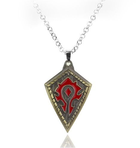 World Of Warcraft Horde Pendant