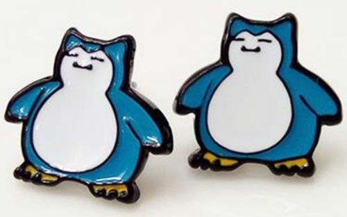 Pokemon Snorlax Earring Studs
