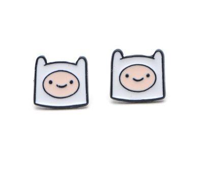 Adventure Time Finn Earring Studs