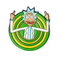 Rick and Morty, Rick Sanchez Pin Badge