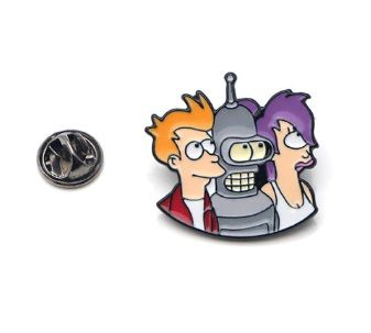 Futurama Pin Badge