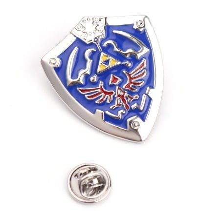 The Legend of Zelda, Hyrule Shield Pin Badge