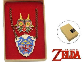 The Legend of Zelda Pin and Pendant Set