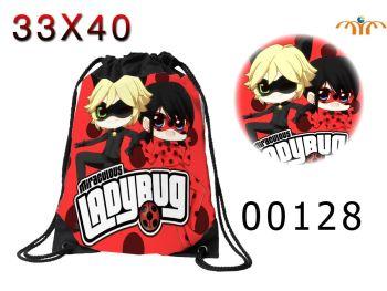 Anime - Miraculous Ladybug Drawstring Bag