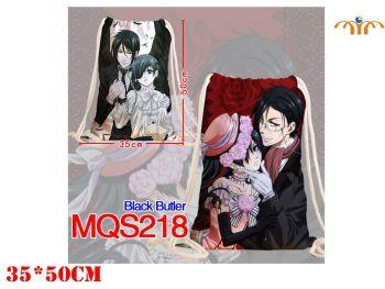 Anime - Black Butler Inspired Drawstring Bag