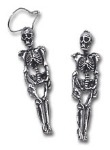 Gothic Skeleton Earrings