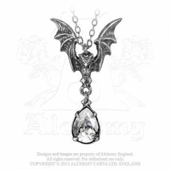 Alchemy Gothic Bat Pendant - La Nuit