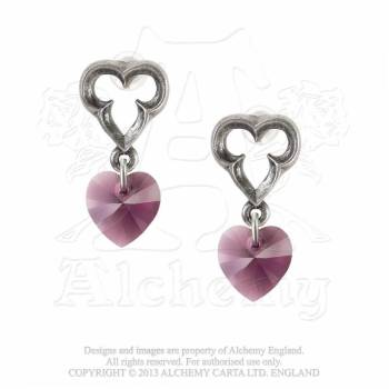 Alchemy Gothic Earrings- Elizabethan Droppers