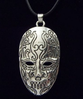 Bellatrix Lestrange Death Eater Mask Pendant