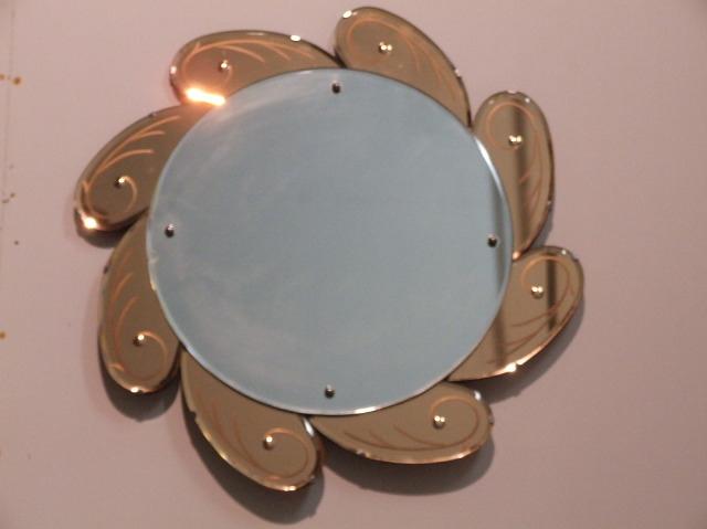 deco sunflower mirror main