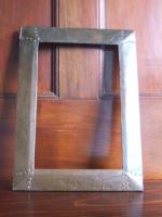 Arts & Crafts copper frame