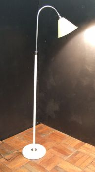 1930s art deco cream floorlamp