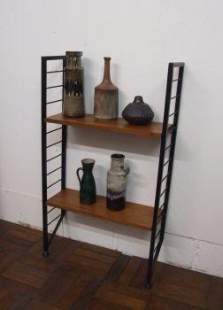 ladderax two shelves