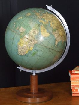 GLOBE OF THE WORLD BY PHILIPS 1930s