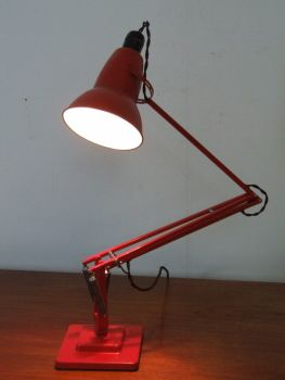 ANGLEPOISE IN RED BY HERBERT TERRY