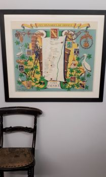 wine poster Alsace