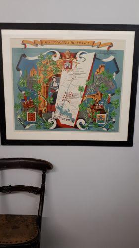 wine poster Rhone