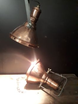 Copper lights 1930s