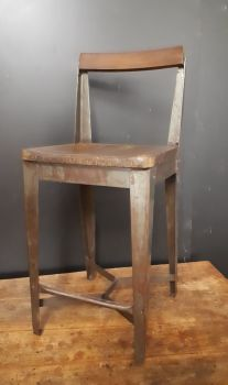 Industrial bench stool