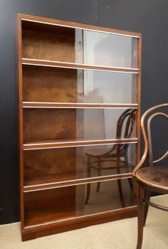 Minty mahogany bookcases units