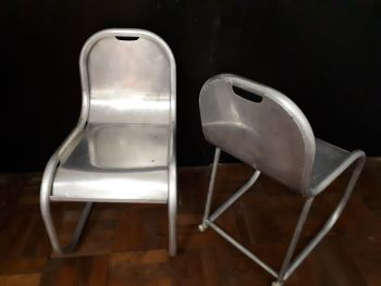 1940s alloy chairs
