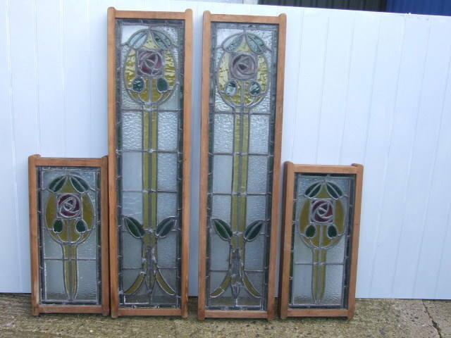 set4 glasgow stained glass