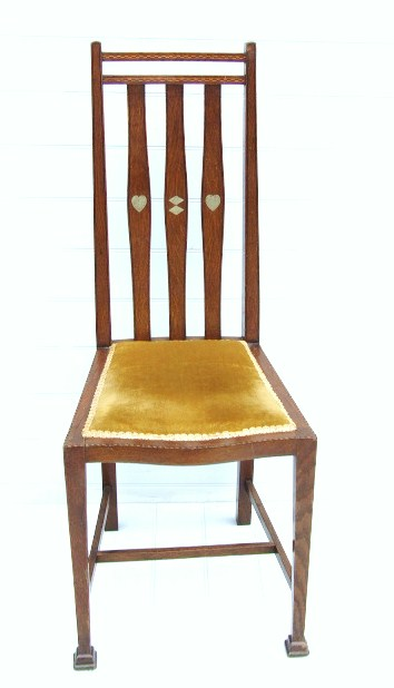 arts and crafts bedroom chair