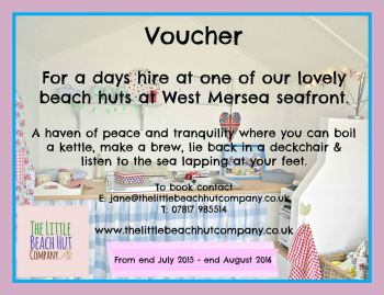 voucher for all huts