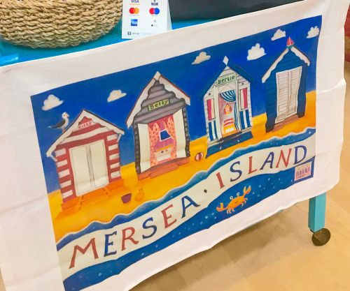 Mersea Island Tea Towel