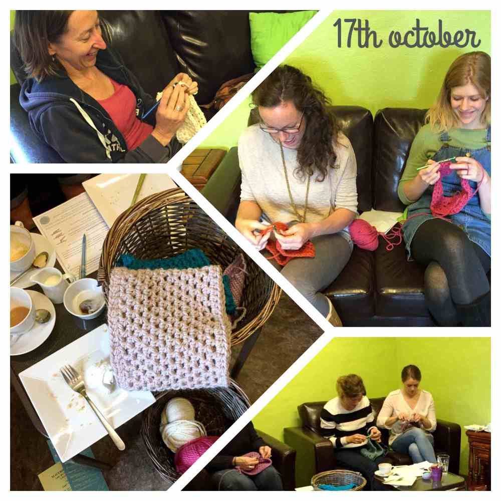 Crochet Cowl workshop 17th Oct 2015