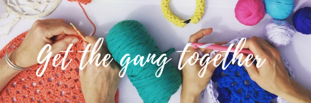 kitty clarke crochet lesson - gang together banner