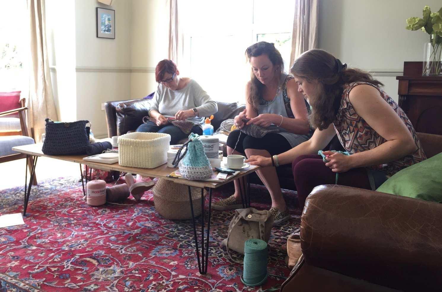 kitty clarke crochet workshop 4